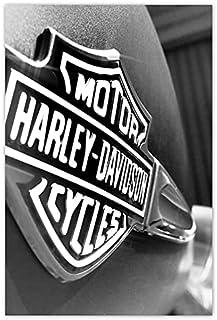 Muurstickers Decor Foto Sticker Logo Harley Davidson 62x93cm Nr H1976
