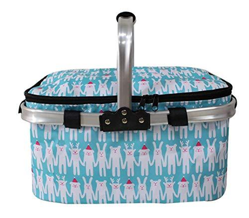 Portable chauffe-panier portable thermique sacs à lunch pour les femmes hommes multifonction grande capacité de stockage sacs fourre-tout aliment pique-niquer sac isotherme