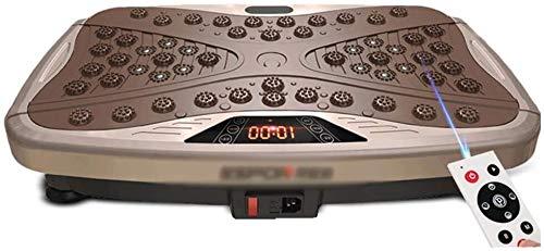 Plataforma Vibratoria Ultra Slim Potencia de la vibración de la placa de fitness Vibrating Machine con, adelgazamiento máquina agitador dispositivo de pérdida de peso perezoso / control remoto + masaj