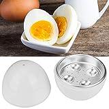 Hervidor de huevos, microondas inalámbrico para hacer huevos, caldera y vaporera, 4 huevos duros o...