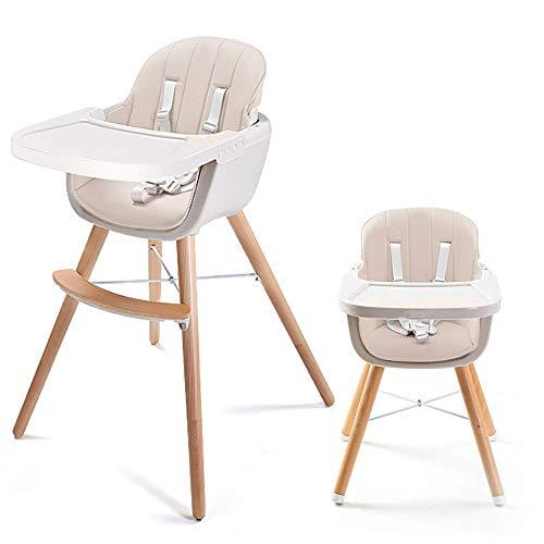 Household Necessities/babystoel 3-in-1 eetkamer robuust hout modern huishouden kinderstoel tafel kussen met baby peuters stroomvoorziening verstelbare hoge stoel Geel