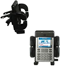 Innovative Vent Cradle Vehicle Mount designed for the Samsung SGH-P300 - Adjustable Vent Clip Holder for Most Car / Auto Vent Systems