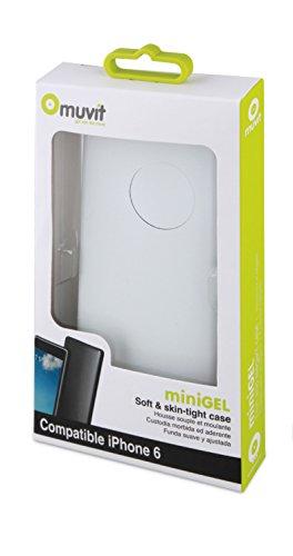 MCA Minigel - Funda Muvit iPhone 6 Blanca
