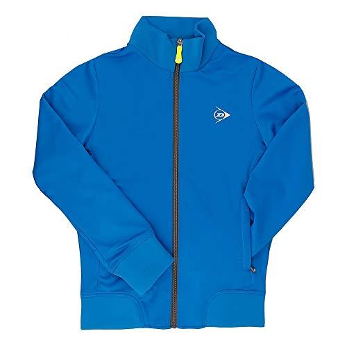 Dunlop Sports Mädchen Girls Knitted Jacket Trainingsjacke, Cobalt, 140