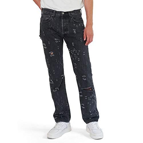 Levi's Men's 501 Original Fit Jeans, Personal Effects Black, 32W X 36L