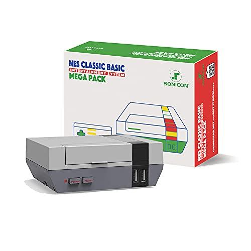 Sonicon Preloaded NES Classic Edition Mini Retro Console Compatible with Nintendo NES, Super...