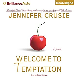 Welcome to Temptation audiobook cover art