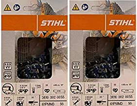 """Archer 16/"""" Chainsaw Saw Chain Pack Of 2 Chain Fits Stihl MS180 MS181 018 02 020T"""