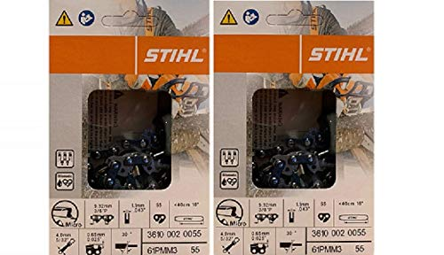 Stihl 3610 005 0055 Pack of 2 Chainsaw Chains
