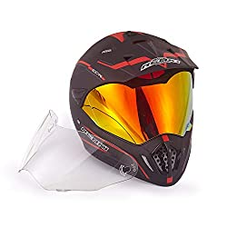 Dual-Sport Motorcycle Helmets/ Crossover