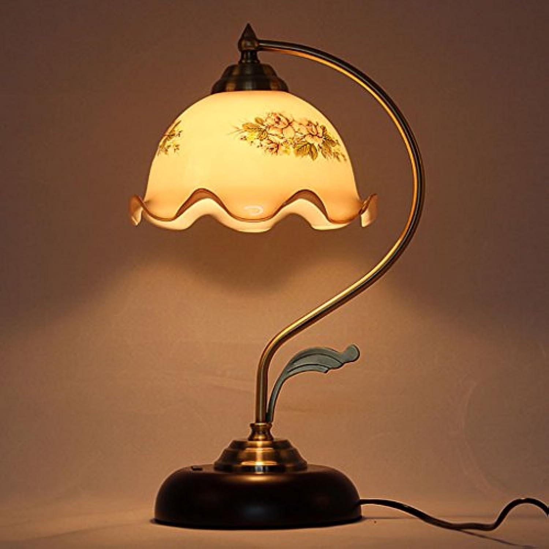 Gute Sache Tischleuchte Europische Stil Retro Lichter Mode Kreative Studie Büro Schreibtisch Lampe Pastoral Warm Bett Nachttisch Lampen