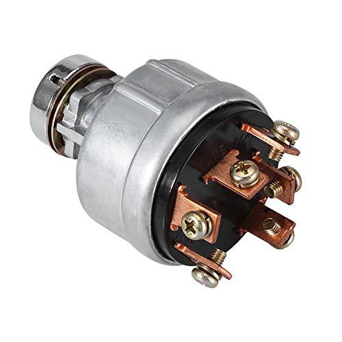 Interruptor de arranque de encendido 2 llaves, interruptor de encendido profesional, mejora la seguridad del interruptor de encendido Kobelco, fácil instalación y extracción para