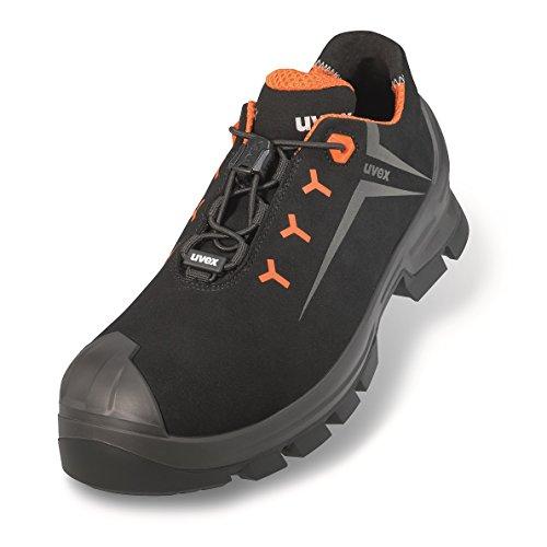 Uvex Uvex 2 Arbeitsschuhe - Sicherheitsschuhe S3 SRC ESD - Orange-Schwarz, Größe:35