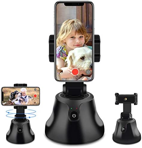 Smart Portable Selfie Stick 360 Rotation Auto Face Object Tracking Camera Tripod Holder Smart product image