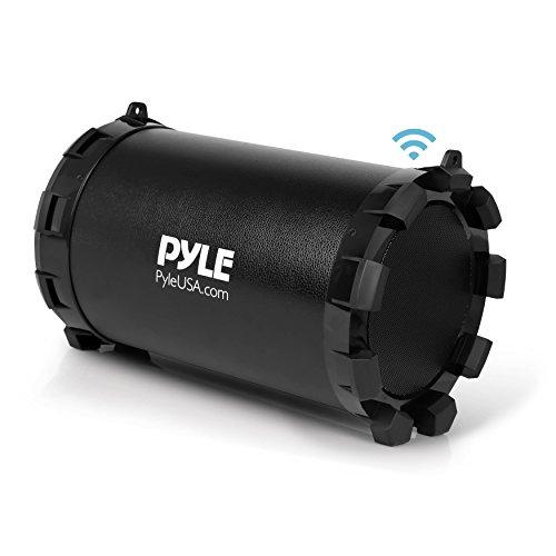 Pyle Altavoz Portátil Boombox Altavoces Bluetooth Batería Recargable...