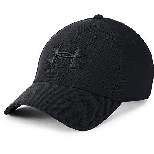 Under Armour Mens Blitzing 3.0 Cap Gorra, Hombre, Negro (Black/Black/Black 002), L/XL