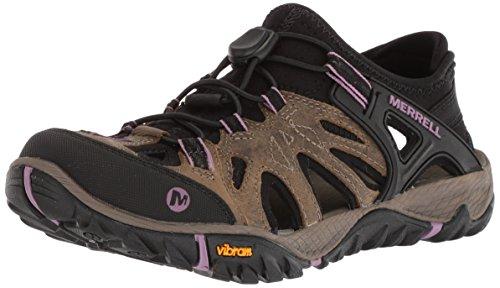 Merrell Women's All Out Blaze Sieve Sport Sandal, stucco, 9.5 Medium US