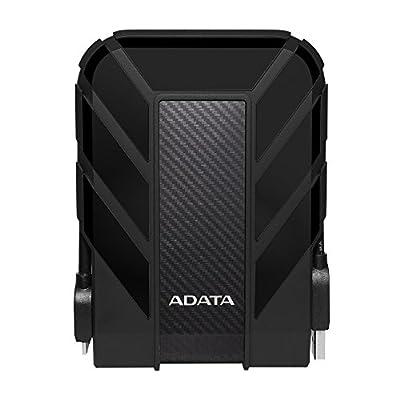 ADATA HD710 Pro 1TB USB 3.1 IP68 Waterproof/Shockproof/Dustproof Ruggedized External Hard Drive, Black (AHD710P-1TU31-CBK)
