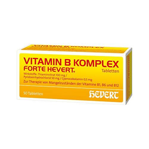 Vitamin B Komplex forte Hevert Tabletten, 50 St. Tabletten