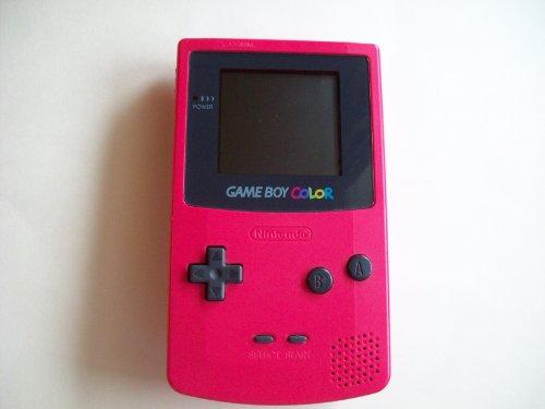 Nintendo Red Game Boy Color (GBC) [Import: Francia]