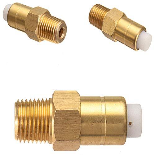 Valvola di sicurezza in ottone per idropulitrice, 6,35 mm