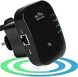 Maofuxing WiFi Répéteur WiFi Booster 300Mbps Extenseur sans Fil Amplificateur de Signal du Réseau Avoir AP/Répéteur et WPS Fonction, Installation Facile, 2.4GHz Augmentation de la Couverture WiFi