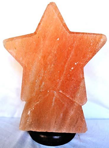 Lámpara de sal Salgemma del Himalaya Estrella con certificado