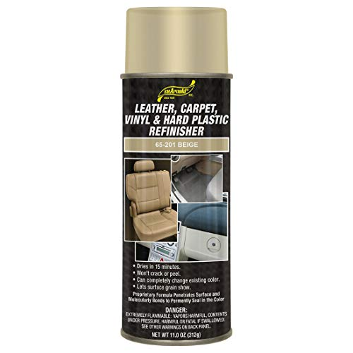Leather, Carpet, Vinyl & Hard Plastic Refinisher - Beige [65-201]