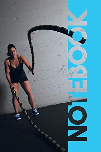 Notebook: Battle Ropes Convenient Composition Book for Intense Workout Notes