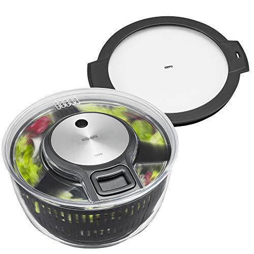 GEFU 00163 Salatschleuder SPEEDWING® + Frischhaltedeckel