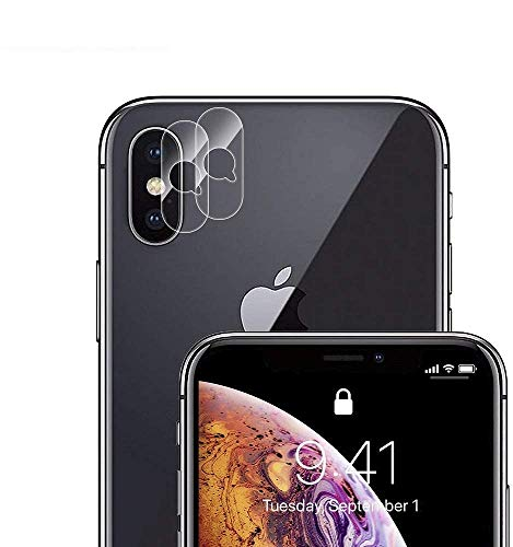 Phone XS Max/Phone Xs/Phone X Camera Lens Protector - [2 PACK] Adwox Super Clear Ultra HD Back Camera Lens Tempered Glass Screen Cover Film Shield Compatible iPhone XS Max/iPhone s/iPhone, 5.8 Inch