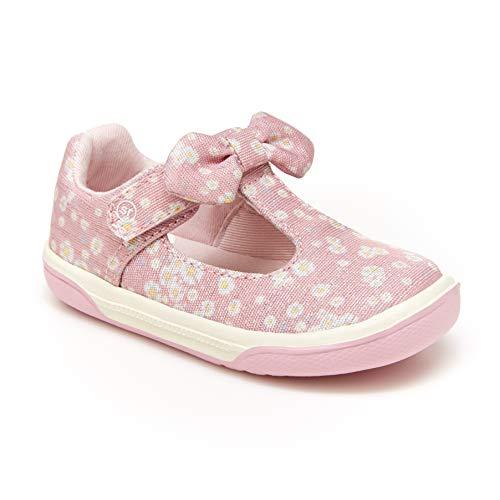 Stride Rite girls Catalina Sneaker, Pink, 10 Wide Little Kid US