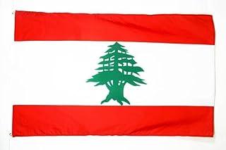 AZ FLAG Lebanon Flag 3' x 5' - Lebanese Flags 90 x 150 cm - Banner 3x5 ft
