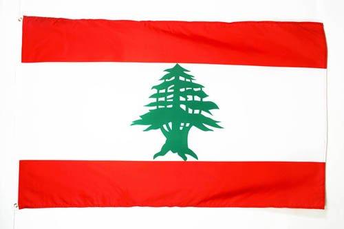 AZ FLAG Flagge LIBANON 250x150cm - LIBANESISCHE Fahne 150 x 250 cm - flaggen Top Qualität