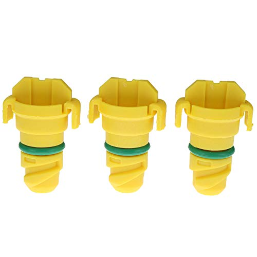 zt truck parts 3X Oil Drain Plug KX6Z-6730B KX6Z6730B Fit for Ford F-150 2015-2018 Lincoln MKZ Mustang Expedition Engine Replaces for FT4Z-6730-A Plug