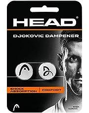 Head Djokovic dampen.