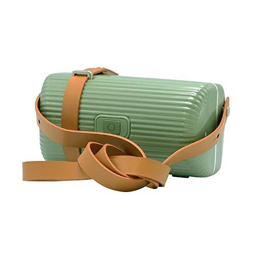 リーフグリーン/DL-2802 UV除菌バッグ スマホ UV 除菌 ボックス ショルダーバッグ ハンドバッグ 紫外線 マスク 消毒ボックス 除菌box