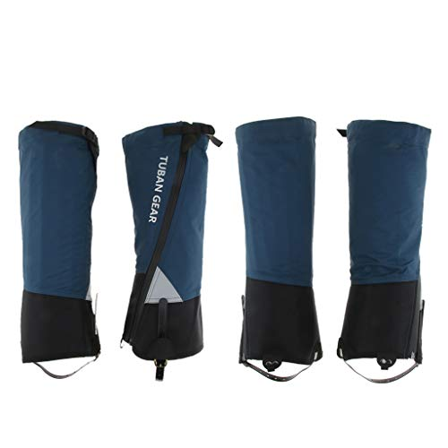 lahomia Ghette Riflettenti Impermeabili 4 Pezzi Leggings Da Esterno M/L - Blu L, 45x45x38cm