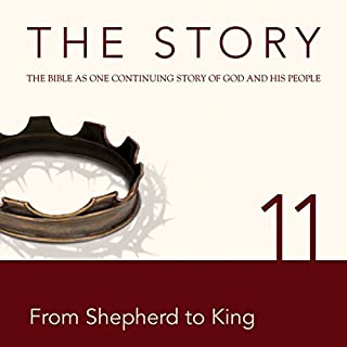 The Story, NIV: Chapter 11 - From Shepherd to King (Dramatized) cover art