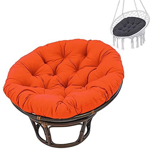 AMYZ Cuscino per Sedia Papasan da Giardino da Cortile Interno Spesso Comodo per Letti sospesi Non Include Sedia da 100 cm