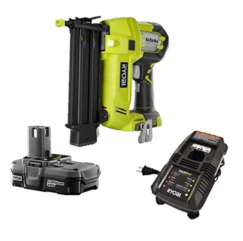 Ryobi One+ 18v Cordless Brad Nailer P320 +Battery & Charger, (Bulk Packaged)