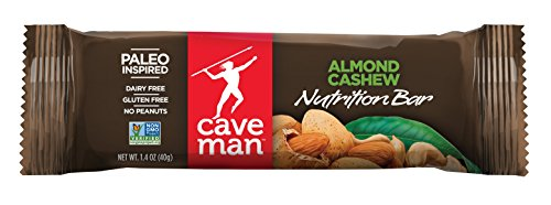 Caveman Foods Almond Cashew Bar