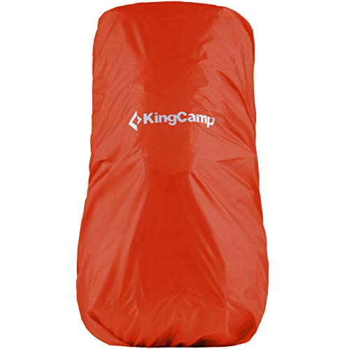 KingCamp - Zaino leggero impermeabile con copertura antipioggia 55-100 L
