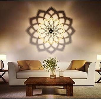 Einfache Wand Lampe Kreative Led Personalisierte Wohnzimmer Wandleuchte Treppe Eingang Wandleuchte Schlafzimmer Bedside Lampe Wandleuchte Schatten Lampe Grosse Kleine Amazon De Beleuchtung