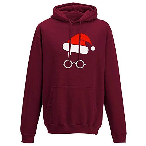 FRAUIT Kerstmis dames herfst winter jas met capuchon bedrukt hoodie mantel sweatshirt kleding blouse tops outwear