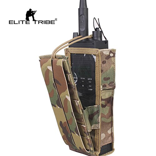 Paintball Equipment EmersonTactical PRC148/152 Radio Pouch Multicam