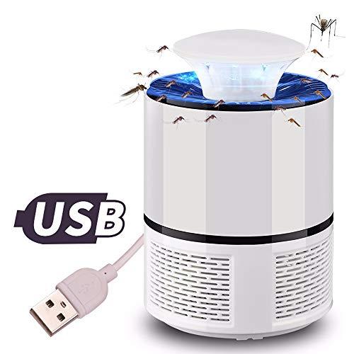 YWLINK Moskito Killer MüCkenfalle Moskito-Insektenvernichter SchäDlingsbekäMpfung USB Schlafzimmer Ungiftig LED-Lichtfallenlampe