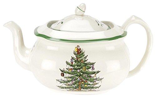 Spode Christmas Tree Teapot L/S