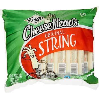 Frigo Cheese Heads String Cheese 1 oz pkg 60 ct