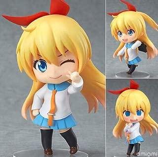 GANGY 10センチかわいいねんどろいどnisekoi chitogeがkirisakiアニメアクションフィギュアpvcコレクションモデル玩具juguetes brinquedos用クリスマスギフト